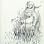 Diver in his Grave by chaitanyak