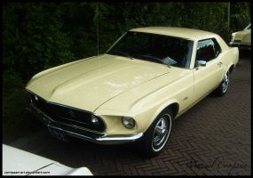 1969  Ford Mustang Coupe by compaan-art