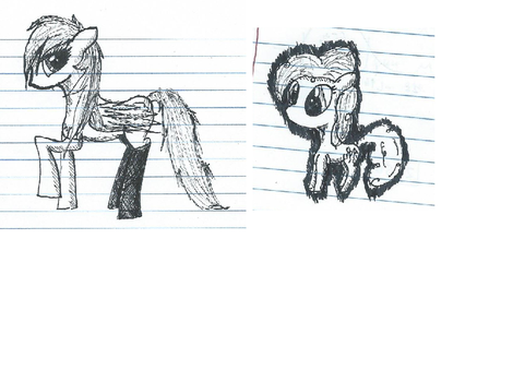 Notebook Sketches by MajorNightmare