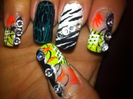 Party Nails by pierrettepaola