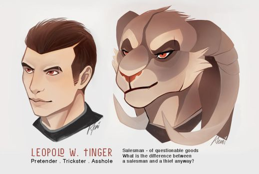LEOPOLD W. TINGER by CreepyRabbit