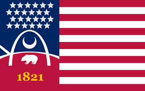Missouri State Flag Proposal No.3 By: S. R. Barlow by DesertStormVet