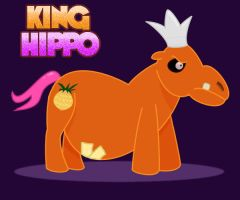 King Hippo the Pony by NOKAPIplz
