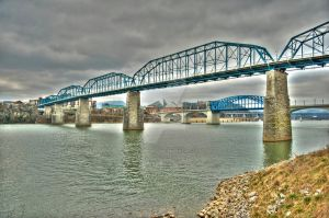 Chattanooga Bridges 2 by Raysperspective