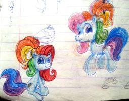 'OLD 2011' G3.5 Rainbow Dashes by Nutty-Nutzis