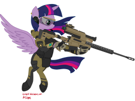Twilight Recon Sniper by orang111
