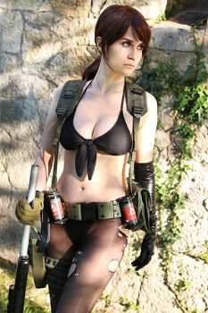 Quiet cosplay 2 by Meryl-sama