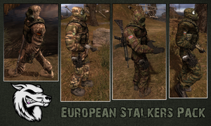 Euro Stalker Pack by crowhitewolf