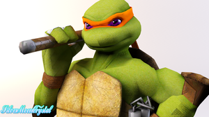 TMNT - Parasitica Mikey by SilverMoonCrystal