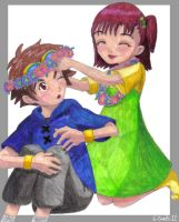 Digimon: Takato and Jeri by 6-5and5-11
