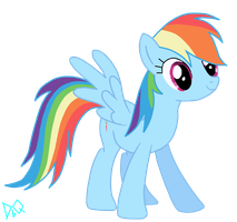 Rainbow Dash by DrumblastingQuilava