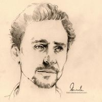 Tom Hiddleston by kleinmeli