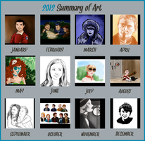 2012 Summary Of Art by The-French-Belphegor