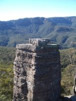 Blue Mountains rock formation by CAStock