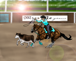 ..:: WWF October: Chico Breakaway Roping ::.. by Starcather9