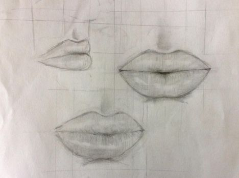 lips practice by P-jelly