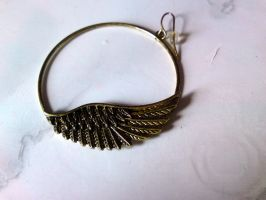 wing earing stock by L-A-Addams-Art