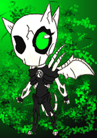Doomy-San  Colored Lineart by BLUE-F0X