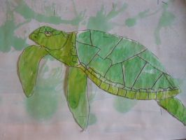 Sea Turtle by hamto