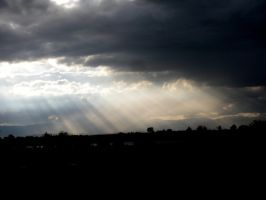 rays of sunlight 3 by EnforcedCrowd