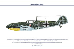 Bf 109 E-4 JG1 2 by WS-Clave