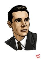 Young Sean Connery by DLTabor