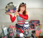 Patriotic collection - red, white and blue by SOFIAMETALQUEEN