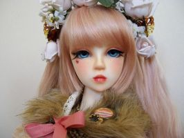 Lily's New Faceup by LadyRavenswood