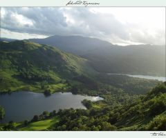 Lakeland Impressions:Two Lakes by Luinloth