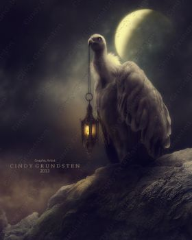 Lonely in the moonlight by CindysArt