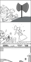 Saving Princess FAIL by laurytheotter