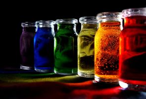 -Bottled Rainbow- by Rosario9