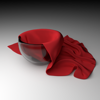 Cup and Cloth by Monerda