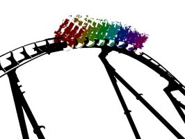 All Aboard the Gay Pride Roller Coaster by Randomman295
