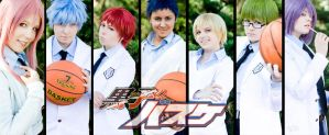 KnB Kiseki no Sedai group by Edolein