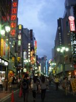 Streets of Shinjuku by Seattle-Storm