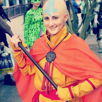 Aang - Phoenix Comicon 2014 by whythewhat