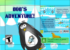 Bob's Adventure Packaging by titanius