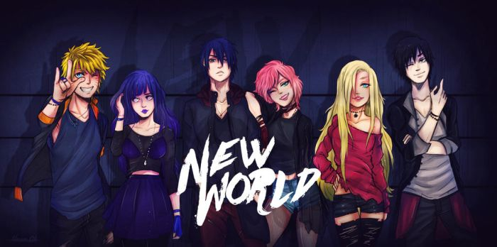 NewWorld  - Comeback !!! by Stray-Ink92