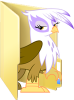 Custom Gilda folder icon by Blues27Xx