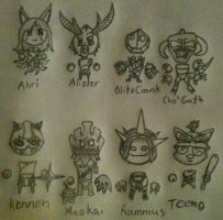 Chib League Of Legends by DarthPackman
