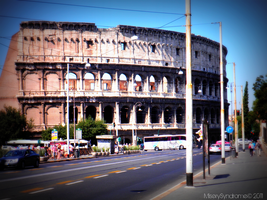 The Colosseum by MiserySyndromex3