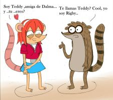 Teddy and  Rigby by ChibiRigby