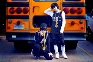Suga + Jungkook [ BTS ] by BloodxButterfly