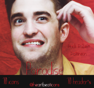 Pack Robert Pattinson - Heartbeaticons by natheditions