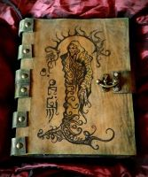 Necronomicon  Book of Carcosa by MrZarono