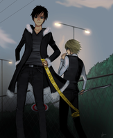 Durarara: Night by iza-chan