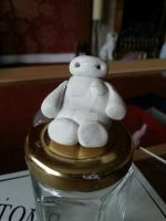 Tiny Baymax WIP by Blondefishy