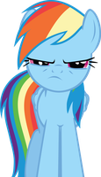 Rainbow Dash is not amused by FabulousPony