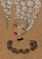 Marie Antoinette by matali